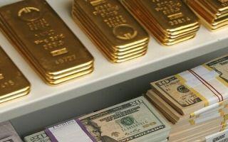 Состояние золотовалютных резервов Банка России