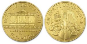 Монета Венская филармония