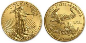 Монета Золотой орел