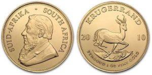 Монета Южноафриканский Крюгерранд