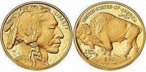 Монета Бизон Буффало