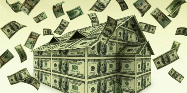 Здание из долларов