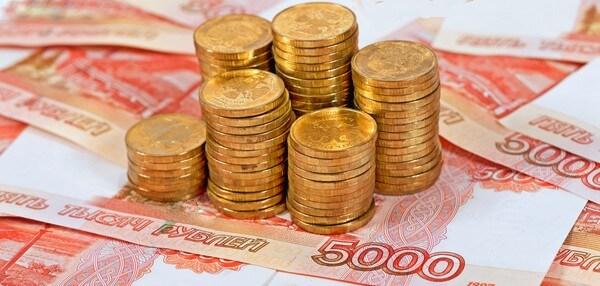 Миллион российских рублей