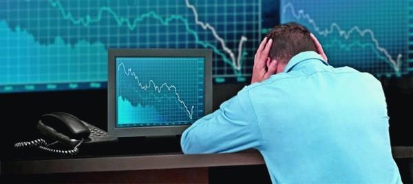 Расстроенный инвестор