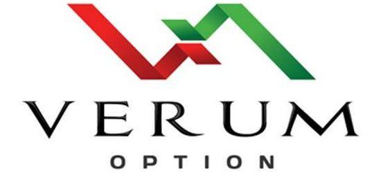 Логотип Верум Опшн