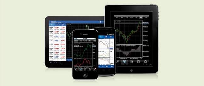 Торговый терминал для бинарных опционах на смартфонах и планшетах