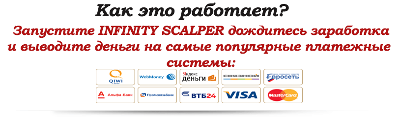 Описание работы Infinity scalper