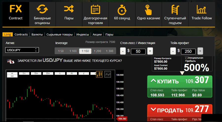 Торговая платформа TorOption