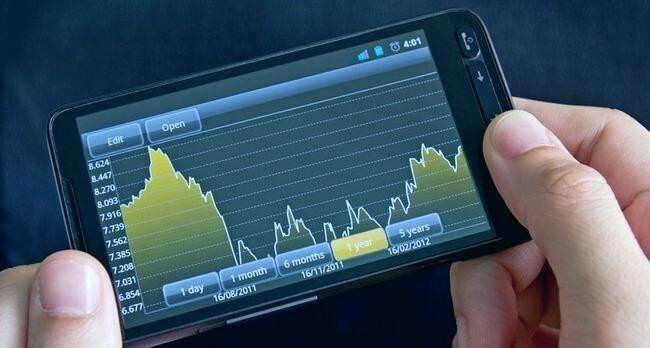 Торговля бинарными опционами на мобильном устройстве