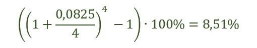 Пример расчета по формуле №2