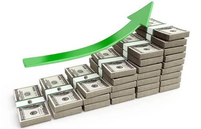 Рост инвестированных денег