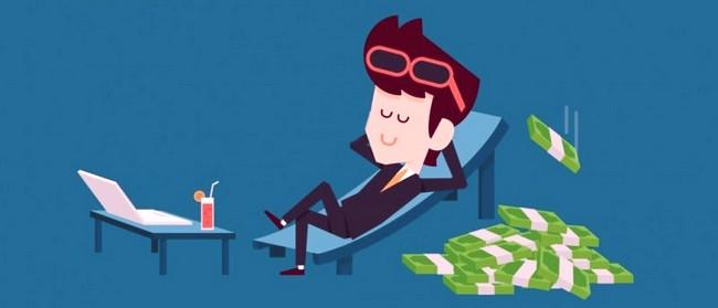 Человек, имеющий пассивный доход
