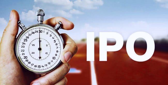 Время, оставшееся до IPO
