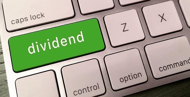 Кнопка на клавиатуре Dividend