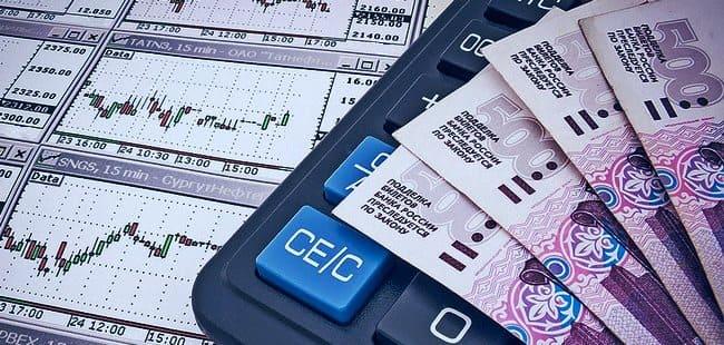 Графики котировок, калькулятор и деньги